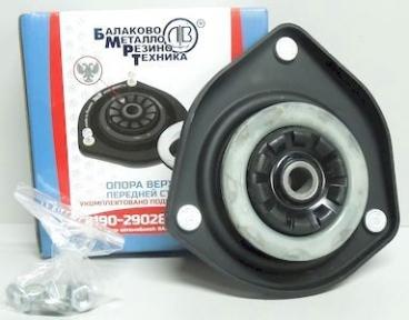 Опора амортизатора для ВАЗ 2190 Гранта со смещением 6мм для а/м без ЭУР переднего (без подшипника) (Стандарт) (Ломов)