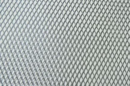 Сетка декор алюмин. ячейка 10мм серебристая размер 40х120см