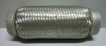 Гофра трубы приемной трехслойная 55х200